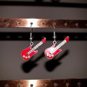 Unique Guitar Earrings